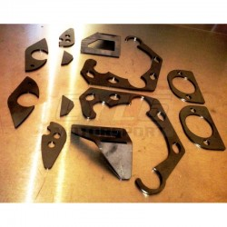Coupelles suspension unibal Arrière - BMW E36