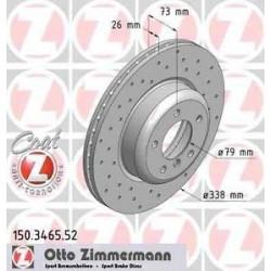 Disques percé Zimmerman - BMW 135i E82-E88