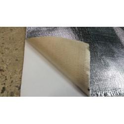 Toile adhésive aluminée - isolation compartiment moteur