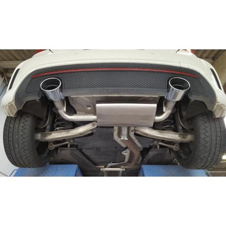 Ligne après catalyseur - Golf 7 GTI
