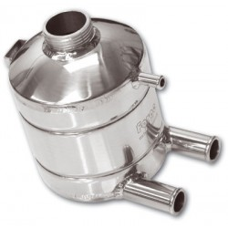 Dump valve double pistons