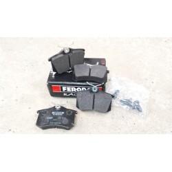Plaquettes DS2500 - Megane 2 et 3 RS - Arrière
