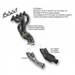Tube afrique décata - Clio RS 197-203cv