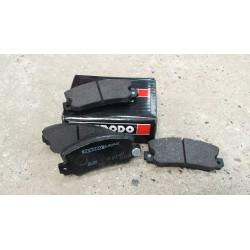 Plaquettes DS2500 - R5 alpine turbo - Avant