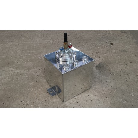Reservoir tampon essence aluminium