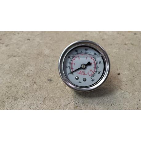 Manomètre pression d'essence universel