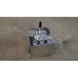 Reservoir tampon essence aluminium + Pompe 044