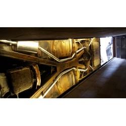 Tube décata et tube intermédiaire Lancia Delta HT evo 2