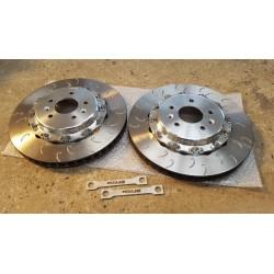 Disques compétiton sur bol aluminium - Megane 4 RS