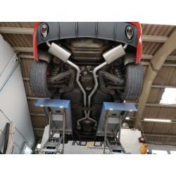 Silencieux arrière - Nissan 370z