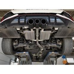 Silencieux + Valve Porsche carrera 991 Turbo MK1